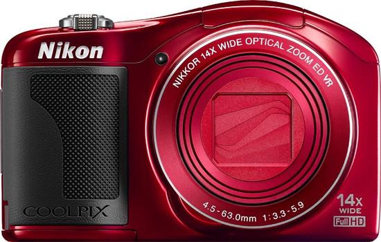 Nikon Coolpix L610 rojo