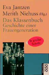 Das Klassenbuch, Großdruck - Eva Jantzen