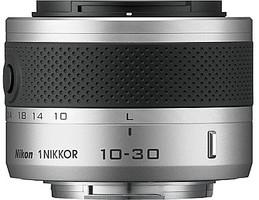 Nikon 1 NIKKOR 10-30 mm F3.5-5.6 VR 40,5 mm Obiettivo (compatible con Nikon 1) argento