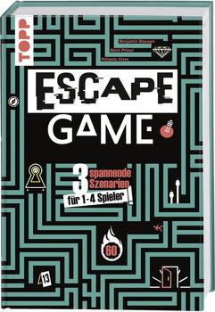Escape Game. Wirst du entkommen? 3 spannende Szenarien für 1 - 4 Gefangene! - Rémi Prieur  [Gebundene Ausgabe]