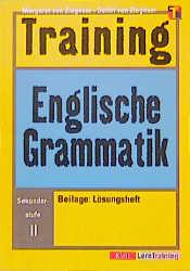 Training Englische Grammatik. Sekundarstufe II. (Lernmaterialien)