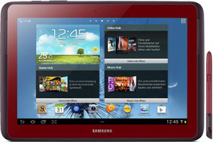 """Samsung N8010 Galaxy Note 10.1 10,1"""" 16GB [WiFi] rosso"""