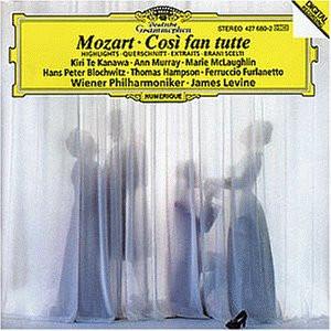 Te Kanawa - Mozart: Cosi fan Tutte (Querschnitt) [italienisch ]