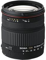Sigma 18-200 mm F3.5-6.3 DC 62 mm filter (geschikt voor Canon EF) zwart