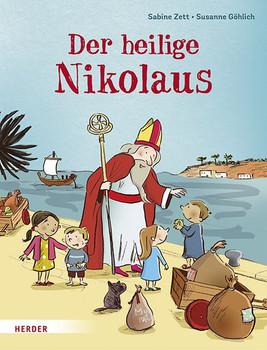 Der heilige Nikolaus - Sabine Zett  [Gebundene Ausgabe]
