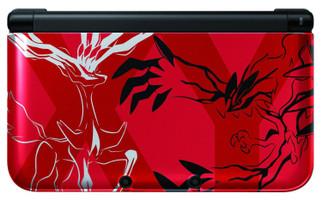 Nintendo 3DS XL rood [Pokemon Xerneas - Yveltal]