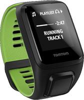 TomTom Runner 3 Cardio + Music Small nero/grün