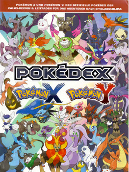 Pokemon X Und Pokemon Y Der Offizielle Pokedex Der Kalos Regien