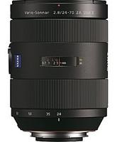 Sony Vario-Sonnar T* 24-70 mm F2.8 SSM ZA II 77 mm Objetivo (Montura Sony A-mount) negro