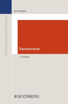 Sachenrecht - Christoph Schreiber  [Taschenbuch]