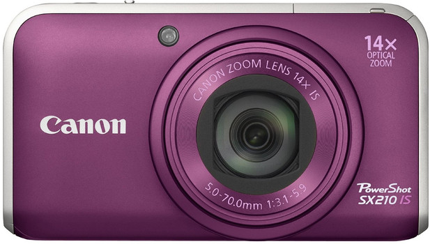 Canon PowerShot SX210 IS morado