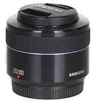 Samsung NX 45 mm F1.8 2D/3D 43 mm Objectif (adapté à Samsung NX) noir