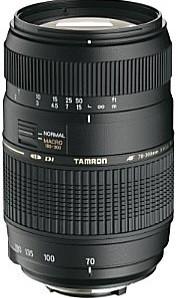 Tamron AF 70-300 mm F4.0-5.6 Di LD Macro 1:2 62 mm Objectif  (adapté à Pentax K) noir