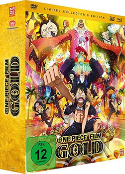 One Piece - 12. Film: Gold [Limited Collector's Edition, DVD + Blu-ray + 3D-Blu-ray]