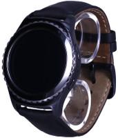 Samsung Gear S2 classic 30,2mm nero con cinturino in pelle nero [Wifi]