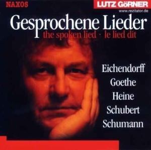 Gesprochene Lieder. CD.