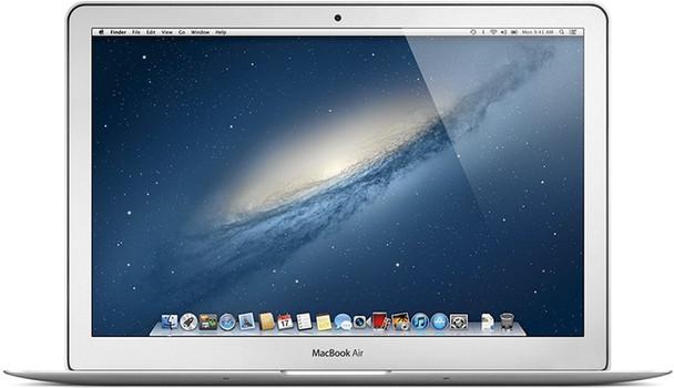 "Apple MacBook Air 13.3"" (high-res glanzend) 1.8 GHz Intel Core i5 4 GB RAM 128 GB SSD [Mid 2012] QWERTY toetsenbord"