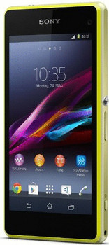 Sony Xperia Z1 Compact 16GB geel