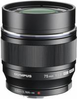 Olympus 75 mm F1.8 ED 58 mm filter (geschikt voor Micro Four Thirds) zwart