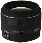 Sigma 30 mm F1.4 DC EX HSM 62 mm filter (geschikt voor Nikon F) zwart
