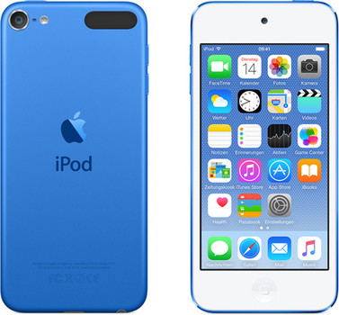 Apple iPod touch 6G 16 Go bleu