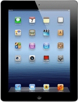 "Apple iPad 3 9,7"" 16GB [wifi] zwart"