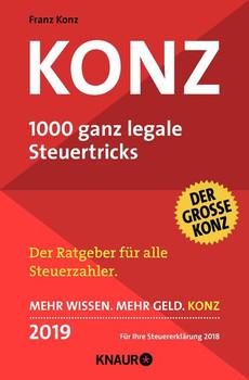 Konz. 1000 ganz legale Steuertricks [Taschenbuch]