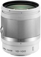 Nikon 1 NIKKOR 10-100 mm F4.0-5.6 VR 55 mm Objetivo (Montura Nikon 1) blanco