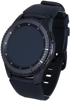 Samsung Gear S3 frontier 33mm grigio siderale con cinturino in silicone blu nero [Wifi]