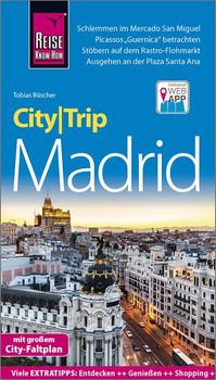 Reise Know-How CityTrip Madrid. Reiseführer mit Stadtplan und kostenloser Web-App - Tobias Büscher  [Taschenbuch]