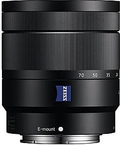 Sony E Vario-Tessar T* 16-70 mm F4.0 OSS ZA 55 mm Obiettivo (compatible con Sony E-mount) nero