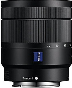 Sony E Vario-Tessar T* 16-70 mm F4.0 OSS ZA 55 mm filter (geschikt voor Sony E-mount) zwart