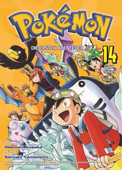 Pokémon - Die ersten Abenteuer. Bd. 14: Gold, Silber und Kristall - Hidenori Kusaka  [Taschenbuch]