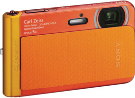 Sony DSC-TX30 naranja