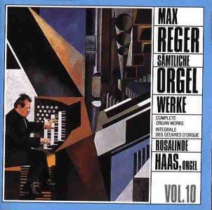 Reger Sämtliche Orgelwerke 10