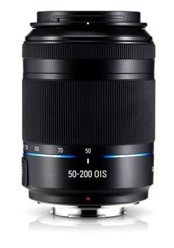 Samsung NX 50-200 mm F4.0-5.6 ED OIS 52 mm Objectif (adapté à Samsung NX) noir