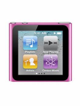 Apple iPod nano 6G 8 Go rose