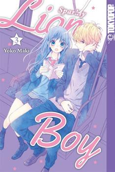 Sparkly Lion Boy 03 - Yoko Maki  [Taschenbuch]