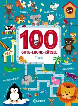100 Gute-Laune-Rätsel - Tiere. ab 5 Jahre [Taschenbuch]