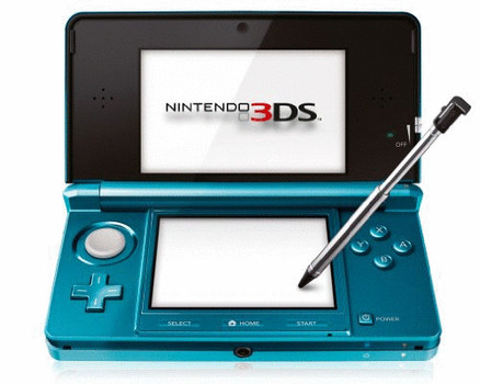 Nintendo 3DS azul