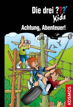 Die drei ??? Kids, 79, Achtung, Abenteuer! - Boris Pfeiffer  [Gebundene Ausgabe]