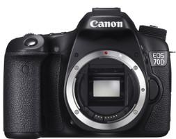 Canon EOS 70D body zwart