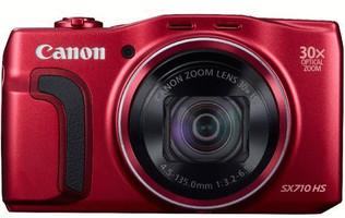 Canon PowerShot SX710 HS rojo