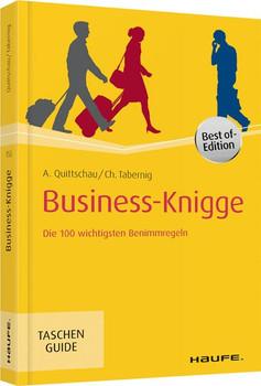Business-Knigge. Die 100 wichtigsten Benimmregeln - Christina Tabernig  [Taschenbuch]