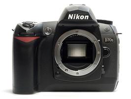 Nikon D70s Cuerpo negro