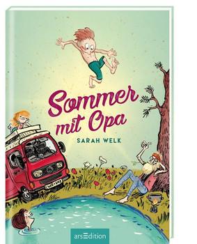 Sommer mit Opa - Sarah Welk  [Gebundene Ausgabe]