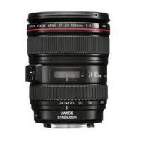 Canon EF 24-105 mm F4.0 IS L USM 77 mm filter (geschikt voor Canon EF) zwart