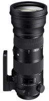 Sigma S 150-600 mm F5.0-6.6 DG HSM OS 105 mm Objectif (adapté à Sigma SA) noir