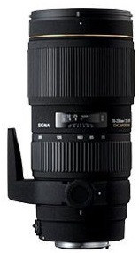Sigma 70-200 mm F2.8 APO DG HSM II Macro 77 mm Obiettivo (compatible con Nikon F) nero