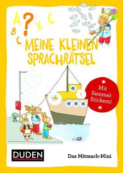 Duden Minis (Band 13) - Meine kleinen Sprachrätsel - Annette Weber  [Taschenbuch]